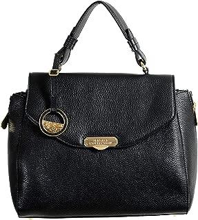 Collection 100% Leather Black Women's Handbag Shoulder Bag