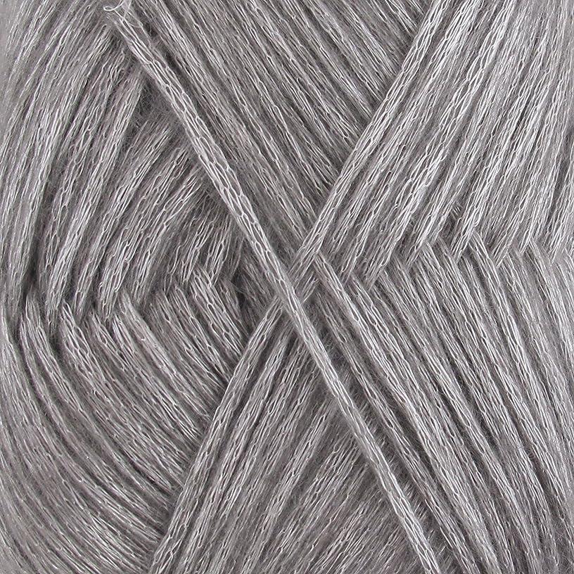 Air Breeze Yarn - Fine Light DK Weight Yarn for Socks, Sweaters, Baby Items - 50g/Skein - Silver Bells - 4 skeins