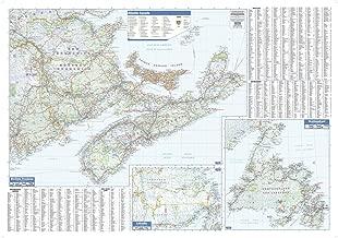 Maritimes Wall Map - 40