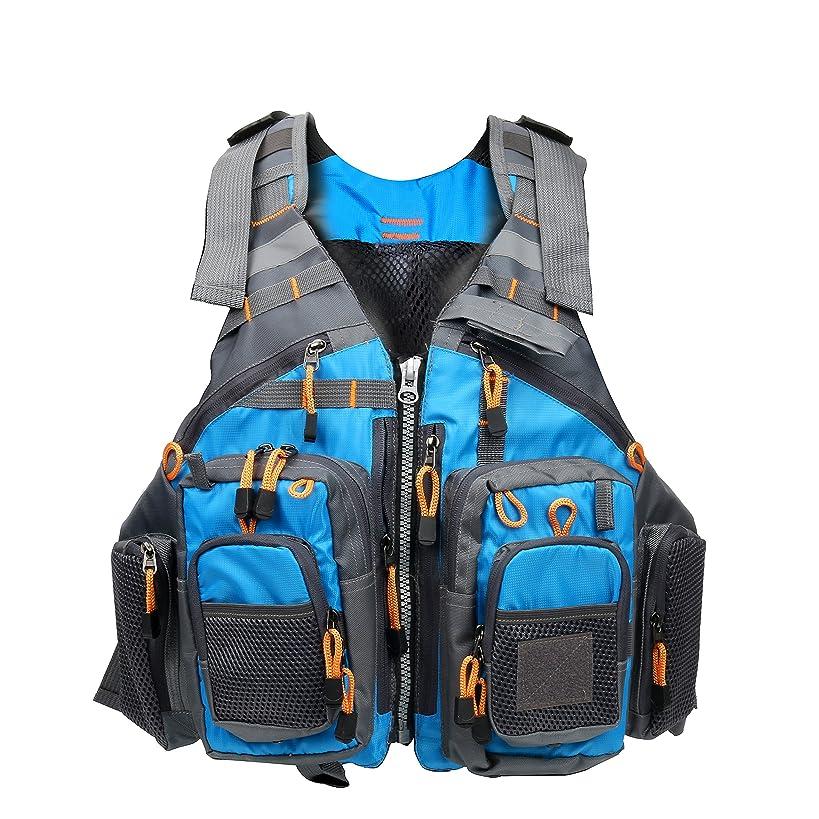 Amarine-made Fly Fishing Vest Pack (Fishing Vest/Fishing Sling Pack/Fishing Backpack)