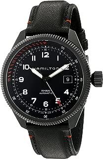 Hamilton Men's H76695733 Khaki Takeoff Auto Air Zermatt Automatic Black Watch