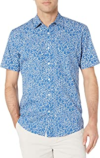 Amazon Essentials Men's Short-Sleeve Regular-Fit Casual Poplin Shirt