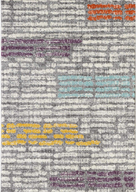 L'BAIET Alice Grey Striped Cheap Rug x 7' 5' Max 77% OFF