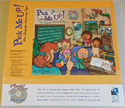 Li'L Pick Me Up! Fun Songs for Learning 200+ ASL Signs - Printed Book plus Enhanced Music CD plus Digital Download Activity Guide