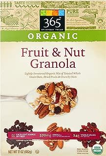 365 Everyday Value, Organic Fruit & Nut Granola, 17 oz