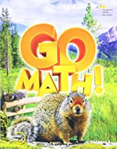 Go Math!: Student Edition Volume 1 Grade 4 2015