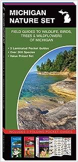 Michigan Nature Set: Field Guides to Wildlife, Birds, Trees & Wildflowers of Michigan