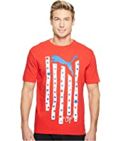 PUMA - Stars & Stripes Cat Tee