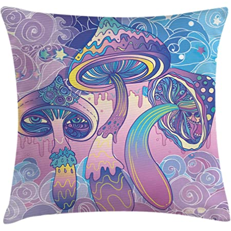 throws and cushions trippy psychedelic rick morty cushion cover
