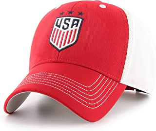 OTS World Cup Soccer U.S. Women's Soccer Team Men's Sling All-Star Adjustable Hat, Star Logo, One Size
