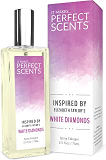 Perfect Scents Inspired by Elizabeth Taylor's White Diamonds - Fragrance for Women - 2.5 Fluid Ounces