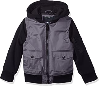 Urban Republic Boys' Ballistic Jacket Melange Sleeve