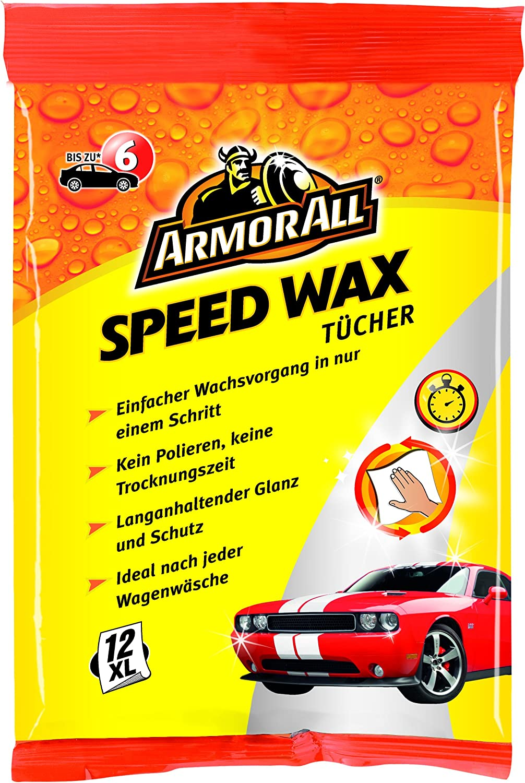 Armor All Gaa24012ge Express Wash Wax Tücher Mit Safe Lift Technologie 12 Stk Auto