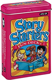 Super Duper Publications | Story Starters Fun Deck | Communication and Language Development Flash Cards | Educational Lear...