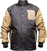Cordura Jacket - Men's Hotline Miami Appealing Flight Bomber Varsity Brown Jacket
