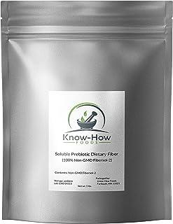 Know-How Foods Prebiotic Dietary Fiber (Non-GMO) - Made with 100% Fibersol-2 (5 lb)