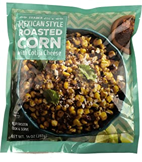 Trader Joe's Mexican Style Roasted Corn w/Cotija Cheese (6 Pack)