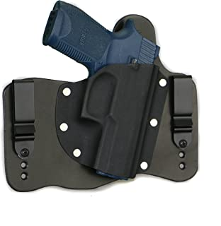 FoxX Holsters fits Sig Sauer P250 Compact Compatible in The Waistband Hybrid Holster Tuckable, Concealed Carry Gun Holster