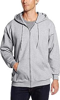 Hanes Men`s Full Zip Ultimate Heavyweight Fleece Hoodie