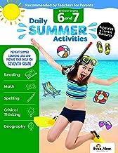 Evan-Moor Daily Summer Activities, Between 6th Grade and 7th Grade Activity Book
