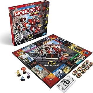 Hasbro Gaming E1781100 2 Monopoly Junior-Die Increíble, Juego de niños