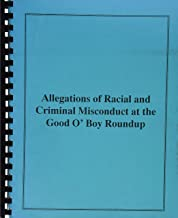 Allegations of Racial And Criminal Misconduct at the Good O' Boy Roundup
