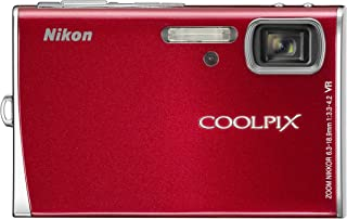 Nikon Coolpix S50 7.2MP Digital Camera with 3x Optical Vibration Reduction Zoom (Red)