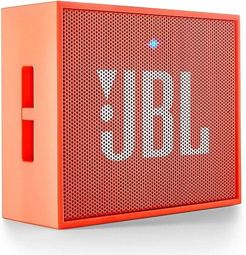 JBL GO Portable Wireless Bluetooth Speaker with Mic (Orange)