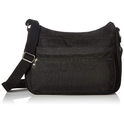 affdb0837e7 Bueno of California Nylon Shoulder Bag