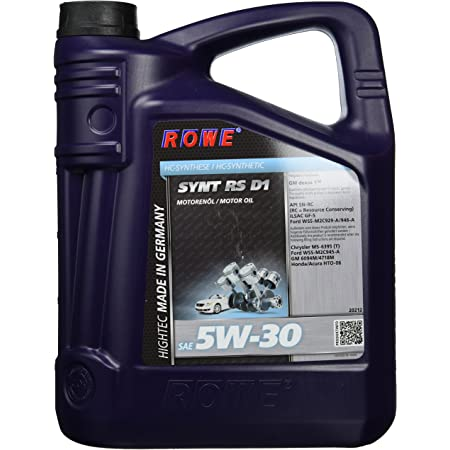 Rowe Hightec Synt Rs D1 Sae 5w 30 5 Liter Auto