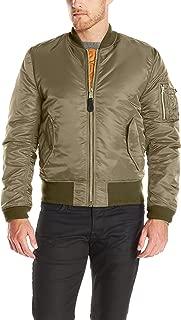 alpha industries hooded ma 1 bomber jacket