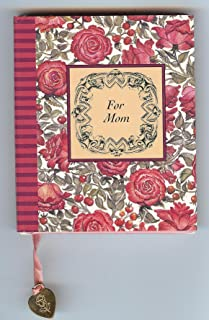 For Mom Petite Book Of Quotes & Thoughts [Attached To The Book Is A 24K Gold-Plated Charm, Which May Be Used As A Bookmark, Or On A Bracelet Or Necklace]