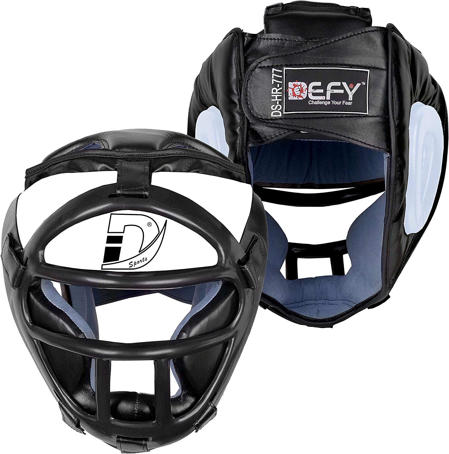 Direct store DEFY Head Guard Premium Luxury goods Synthetic Leather MMA U Gear Boxing