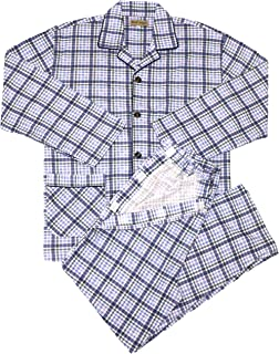 【trust map】介護 パジャマ 通年用 メンズ セミオープン [寝たきり 術後 入院 点滴中 のお着替えサポート] (L)