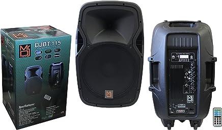 $148 Get Mr. Dj DJBT115 15-Inch 3000 Watts Max Power Speaker with Built-in Bluetooth/FM Radio/ MP3/USB/SD Card Slot