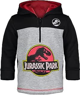 Dinosaur Movie Logo Boys' Fleece Hoodie Pullover Sweatshirt w Zipper
