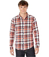 Lightweight Brushed Flannel Shirt in Pop Colours