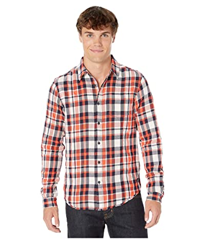 Scotch & Soda Lightweight Brushed Flannel Shirt in Pop Colours (Combo A) Men