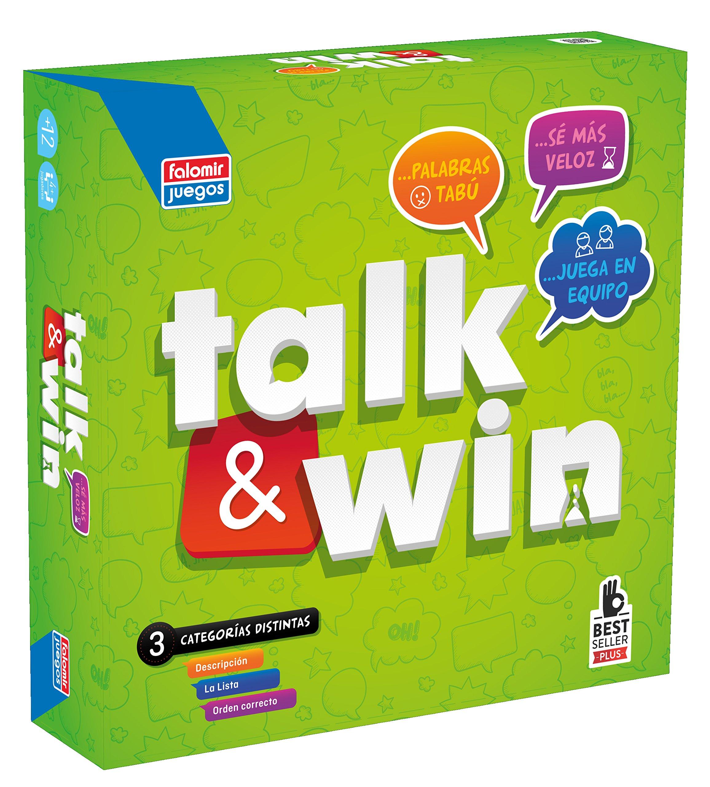Falomir- Juego Talk & Win (26549): Amazon.es: Juguetes y juegos