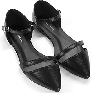 Mio Marino Ballet Flats Shoes for Women - Pointed Toe Flats Dress Shoes for Women