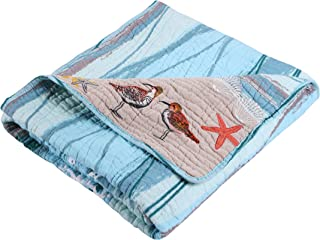 Greenland Home Maui Quilted Throw