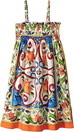 Dolce & Gabbana Kids - Sleeveless Dress (Big Kids)