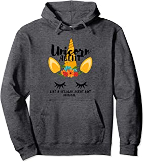 Unicorn Agent - Real Estate Agent Pullover Hoodie