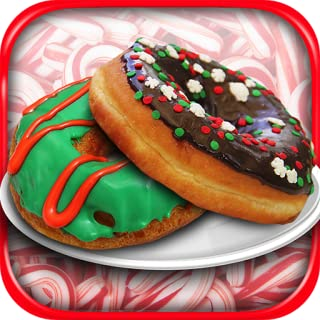 Christmas Donut Maker – Kids Frozen Winter Holiday Dessert Cooking Baker Game