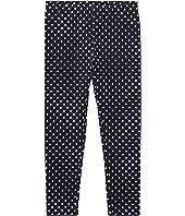 Polo Ralph Lauren Kids Polka Dot Jersey Leggings (Little Kids)