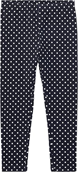 Polo Ralph Lauren Kids - Polka Dot Jersey Leggings (Little Kids)