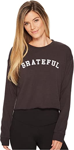 Grateful Arch Crop Sweatshirt