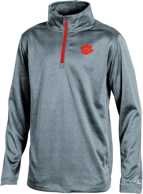 NCAA Boys Long Sleeve Synthetic Quarter Zip Jacket