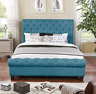 Best queen upholstered sleigh bed Reviews