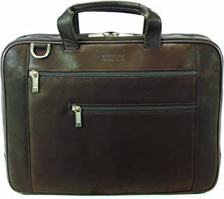 Kenneth Cole Reaction Luggage Double Play Brief, Dark Brown, Medium